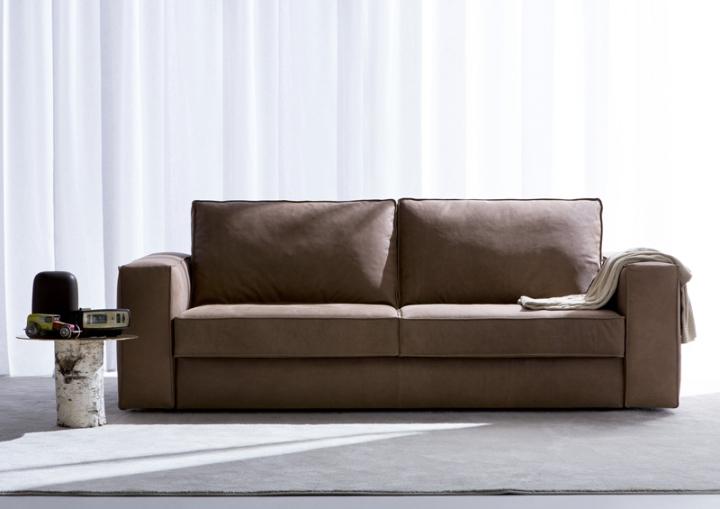 Sofá-cama-de-couro-nemo-berto-salões de beleza
