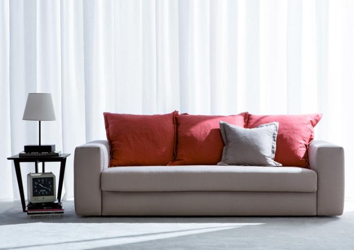 sofá-cama-em-tecido MAT-berto-salões de beleza