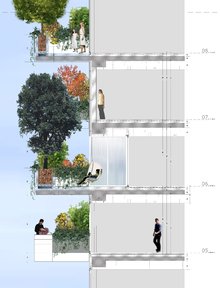 Geberit para Vertical Floresta 3-Project Estúdio Boeri