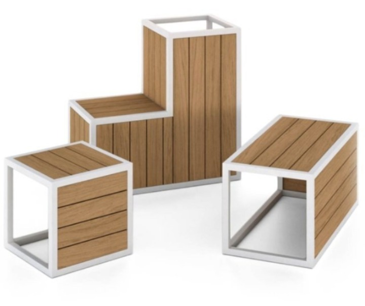DECO DECKING - collezione CUBICO - design Deco Decking