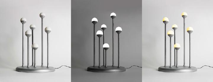 Gianluca Sgalippa estigma lâmpada