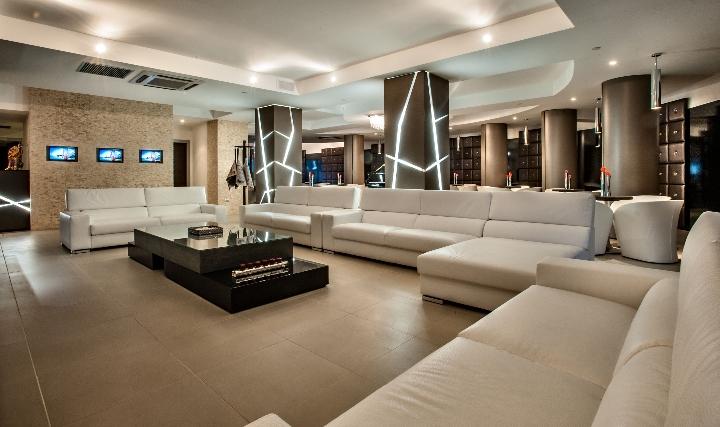 Hansgrohe per il Grand Hotel MaMa Area Lounge