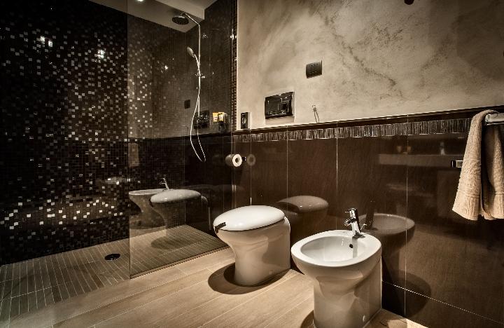 Hansgrohe per il Grand Hotel MaMa sala da bagno della Camera Comfort