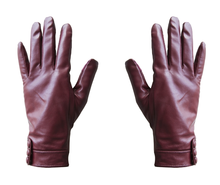 hi-glove leather woman red