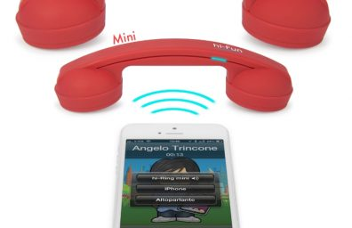 anillo de mini bluetooth conectar doble