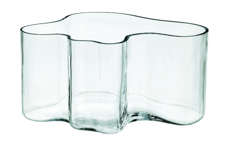 Aalto vase 145mm clear JPG