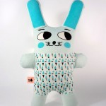 Pupazzo Coniglio blu Duedifiori