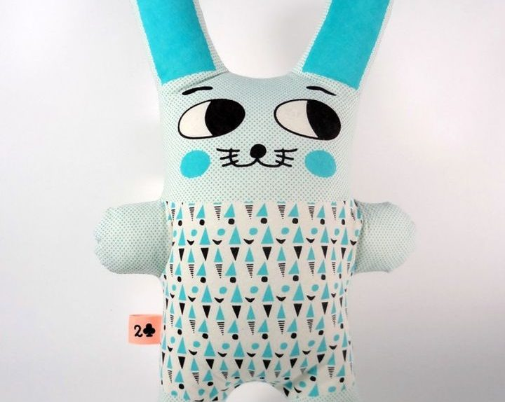 Snowman Blue Rabbit Duedifiori