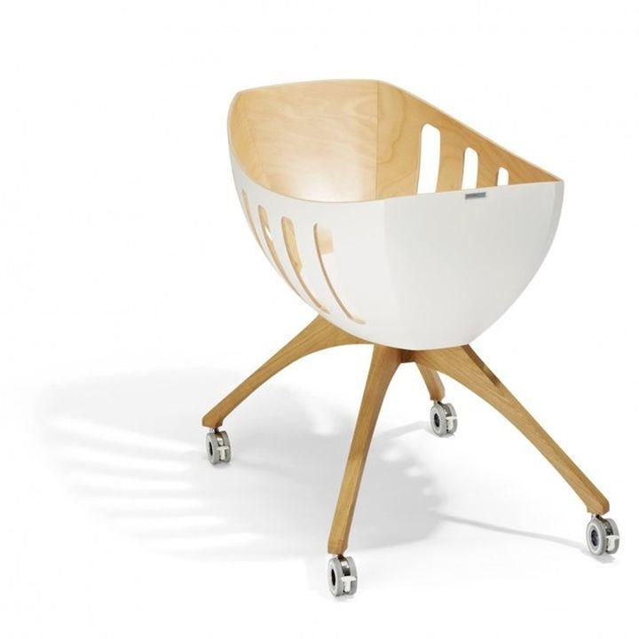 Gloria Lavi culla per neonati in legno-008