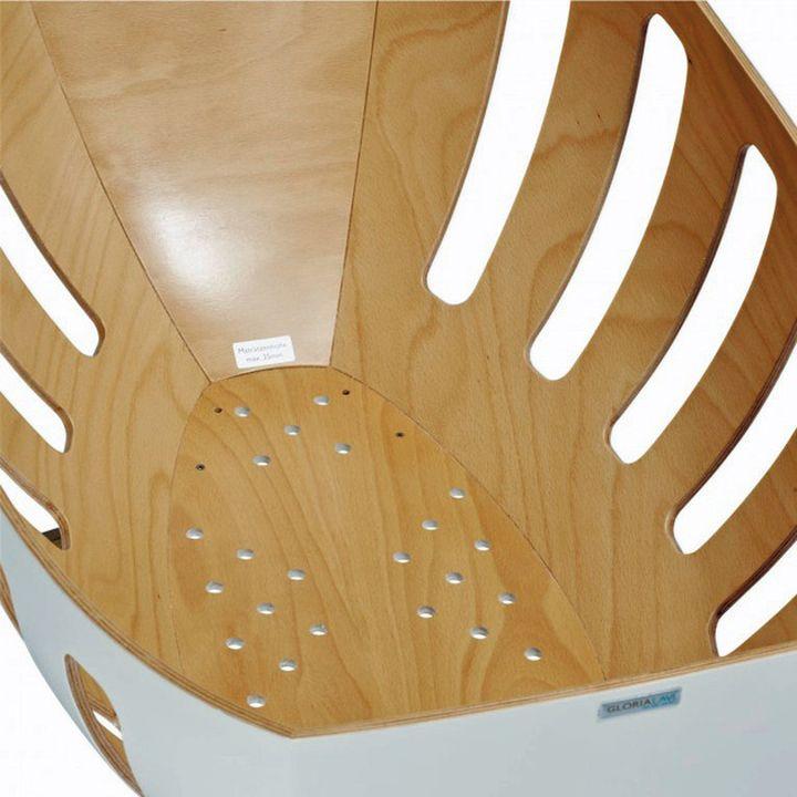 Gloria Lavi culla per neonati in legno-009