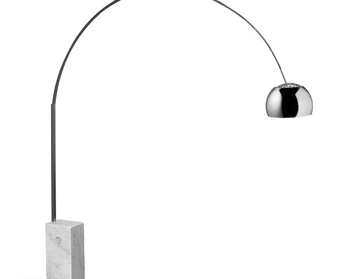 lampe à arc Achille Castiglioni 02