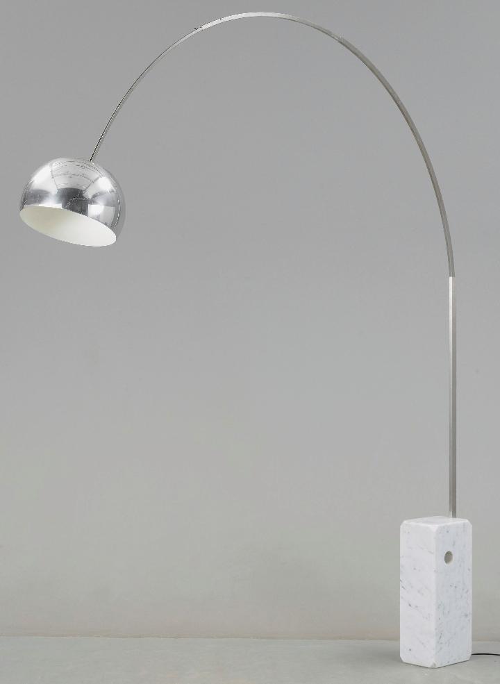 arco de la lámpara de Aquiles castiglioni 08