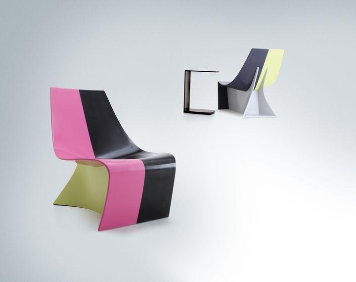 HI-MACS Sparkle furniture designed by Karim Rashid