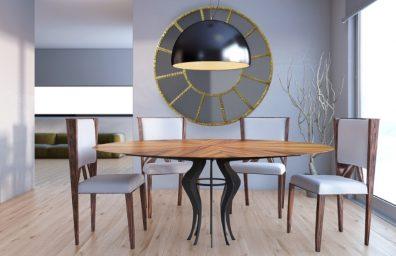 fe-mesa de jantar estilo de vida