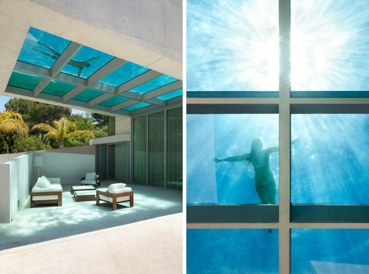 Jellyfish-House-by-Wiel-Arets-Architects-casa-piscina-vetro-trasparente-tetto-Marbella-Spain-ddarcart-02