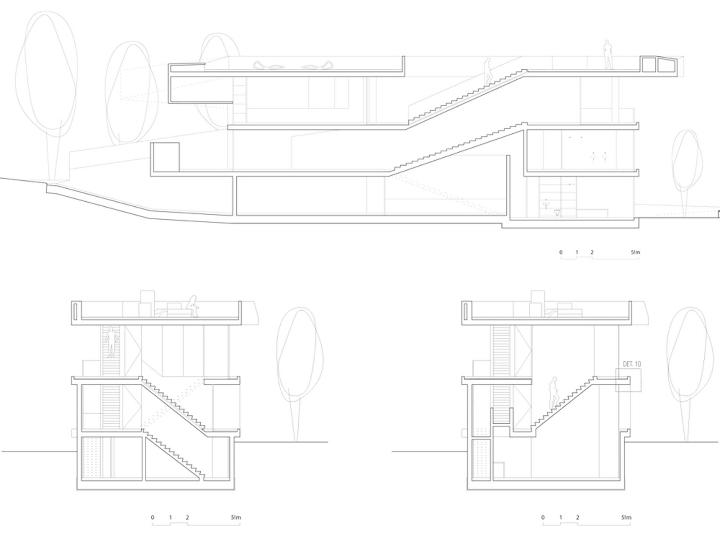 Medusa-House-by-Wiel-arets-Architects-house-piscina-transparente de vidro-roof-Marbella-Espanha-ddarcart-16