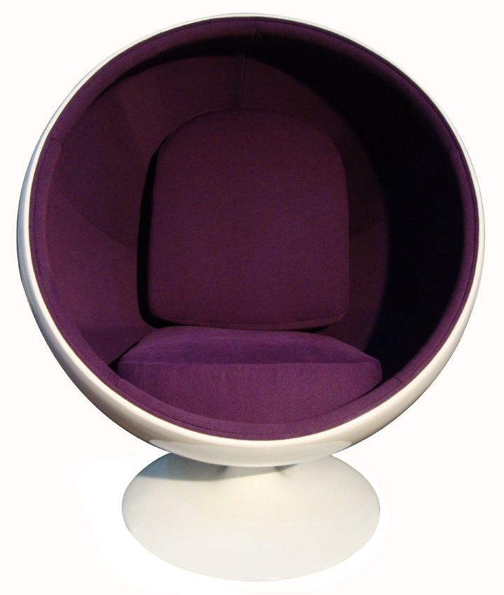 poltrona sfera Eero Aarnio, ball chair