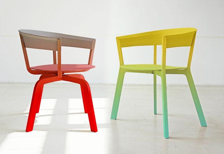 Bikini chair la sedia di werner aisslinger per moroso for Sedia design mag
