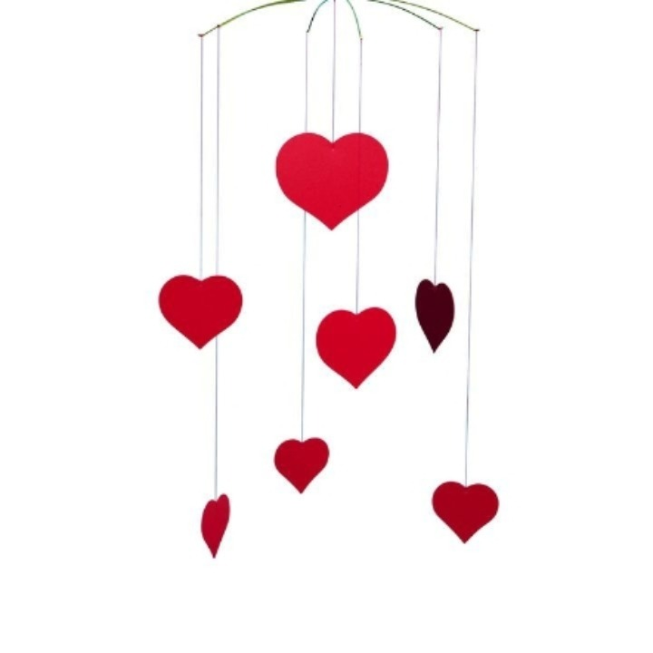 happy hearts Flensted mobiles belnote