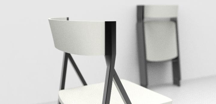 Klappstuhl holz design  KLAPP Klappstuhl Area Declic, Premiere auf der Mailänder ...