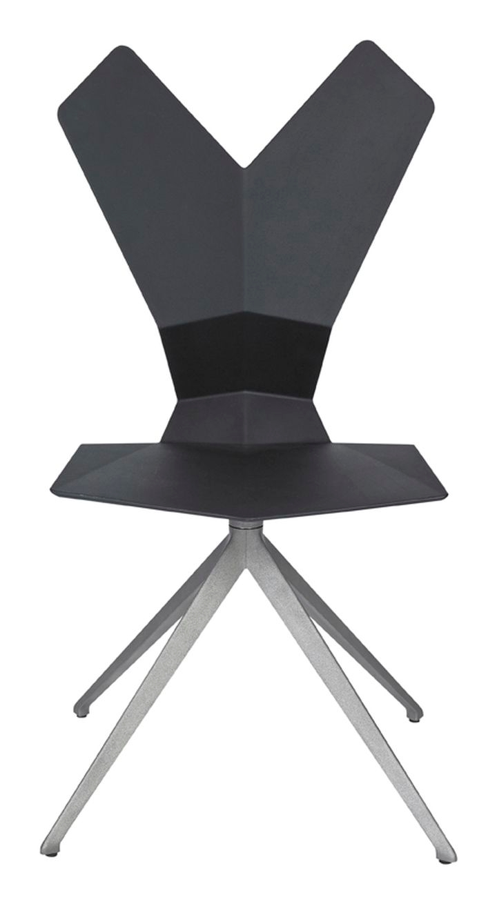 Swivel.Aluminium.Black.Front 1
