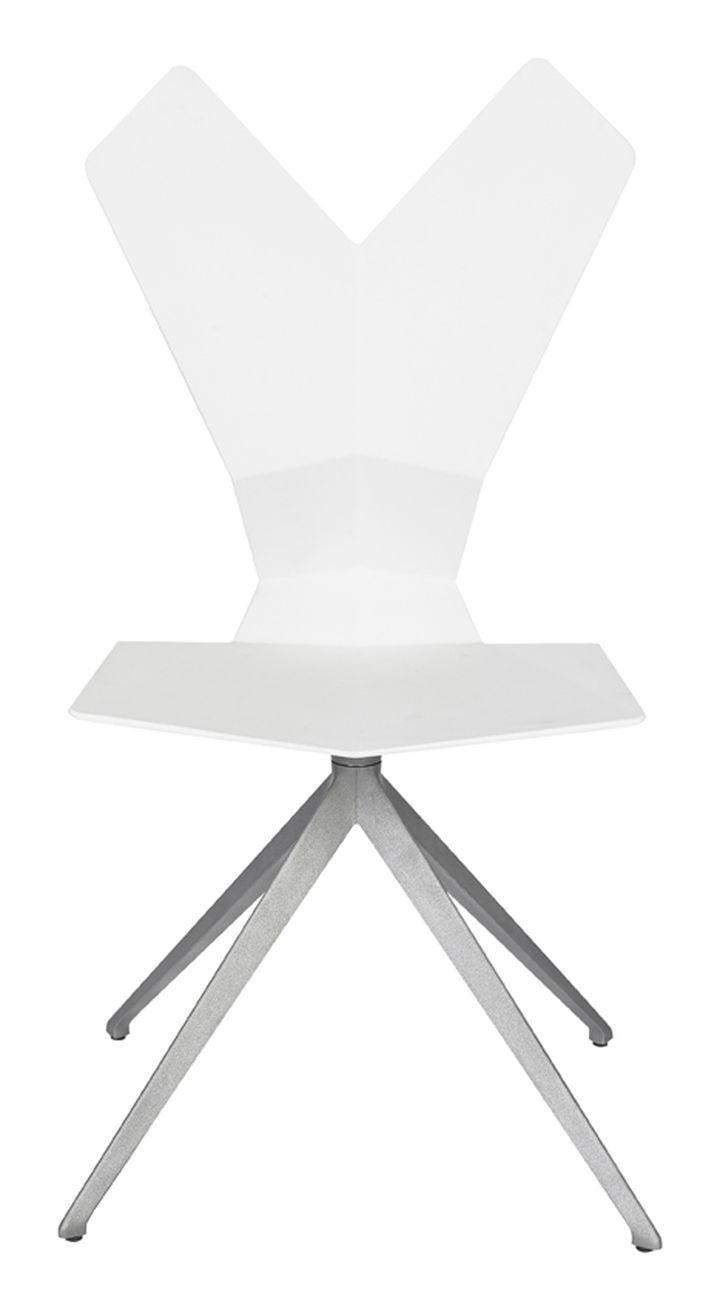 Swivel.Aluminium.White.Front 1