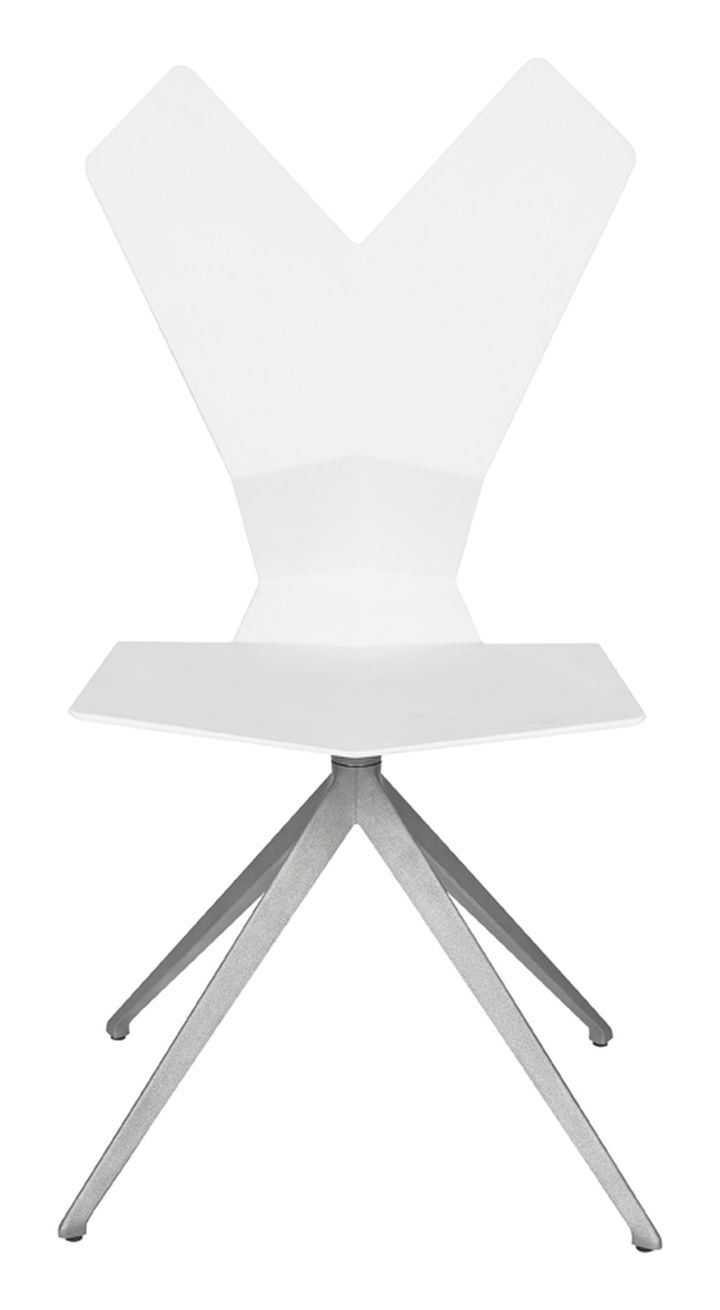 Swivel.Aluminium.White.Front 1
