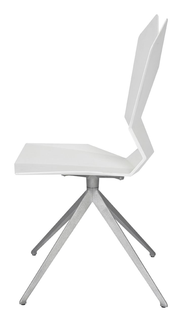 Swivel.Aluminium.White.Side 1