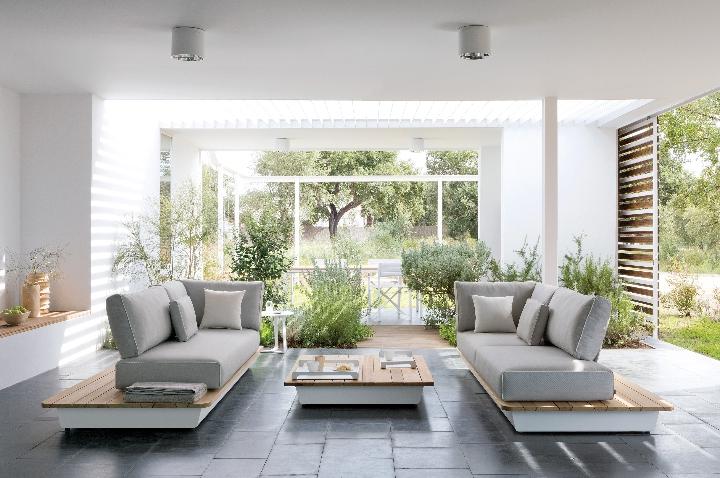 Manutti - AIR divani tavolino amb 1