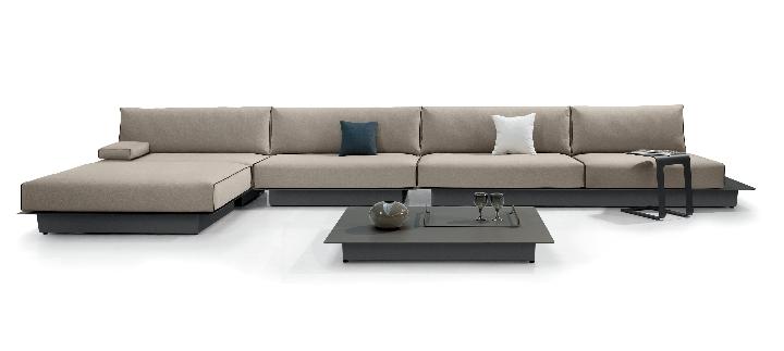 Manutti - AIR divani tavolino amb 5