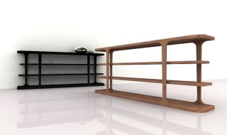 PATINA by Codital - LE CADRE BOOKCASE