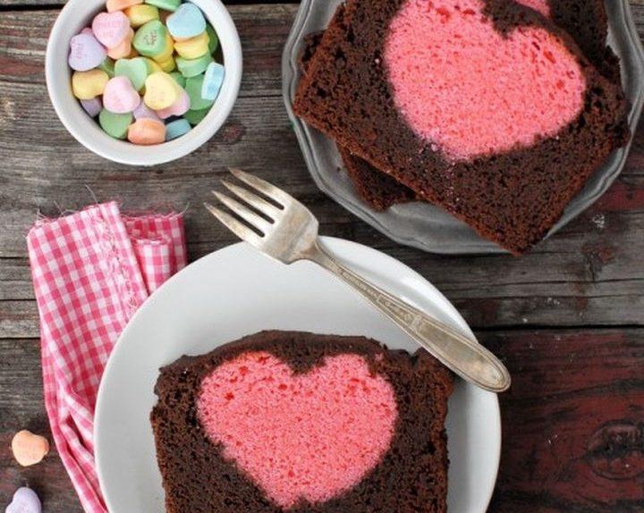 Valentine una ciruela dulce con un corazón dentro de 01
