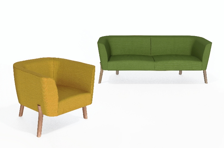 April sofa by Sir Kenneth Grange with Jack Smith