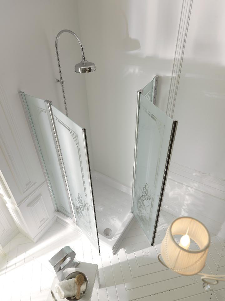 Bagno retr con doccia si pu con kerasan social design magazine - Si puo trovare in bagno 94 ...