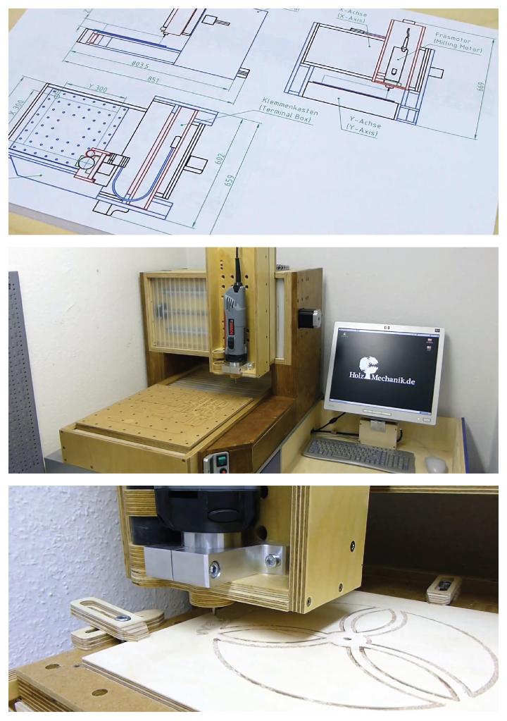izmade 123 CNCのワークショップ
