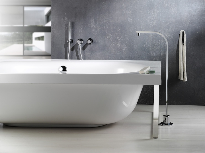 Bonomi - ELLE - moconomando mixer for wall wash basin ph.Clerici A 7