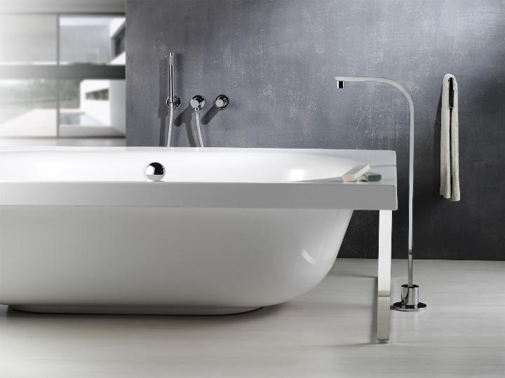 Bonomi - ELLE - MIscelatore moconomando per lavabo a parete ph.Clerici A 7