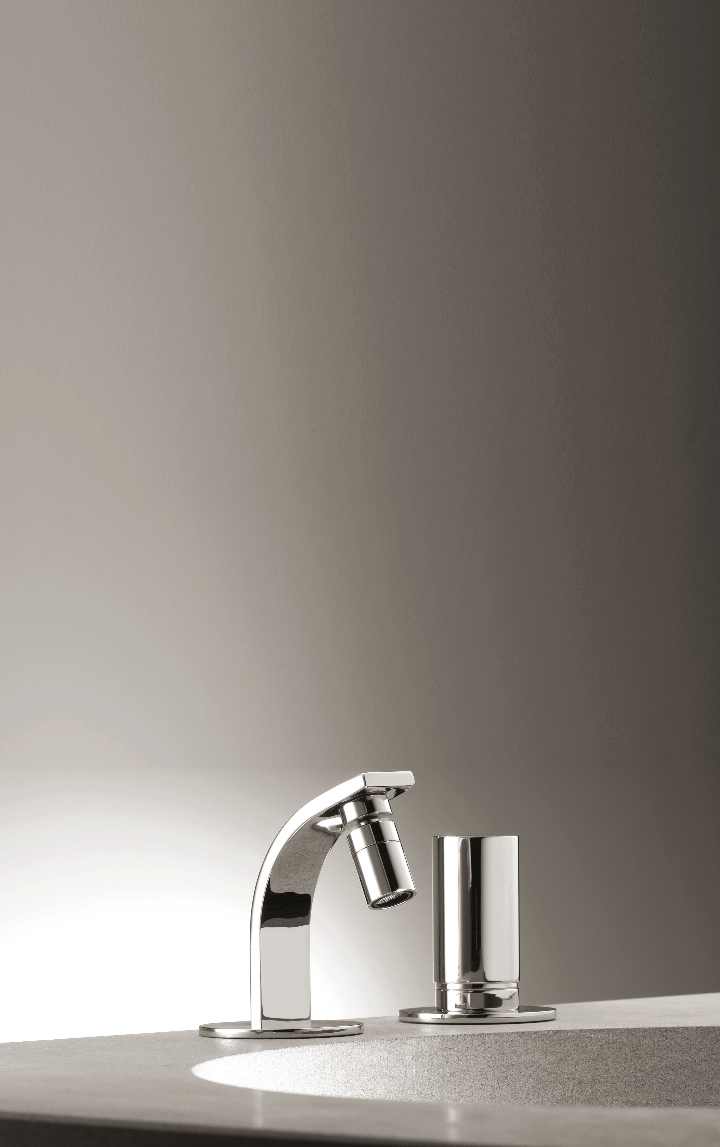 Bonomi - ELLE - moconomando mixer for wall wash basin ph.Clerici A 9