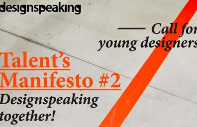 DESIGNSPEAKING TALENT S MANIFESTO