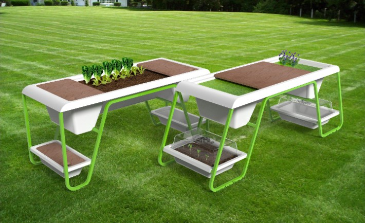Z-Farm by Isoplastic Victory Garden Table 2