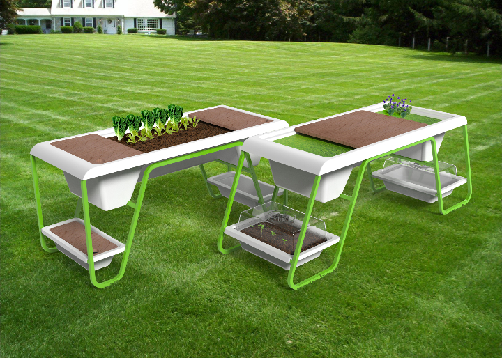 Z-Farm by Isoplastic Victory Garden Table 2