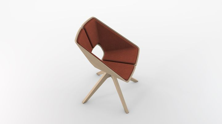 Hug stuhl f r den neuen infiniti design marcello ziliani for Infiniti design stuhl