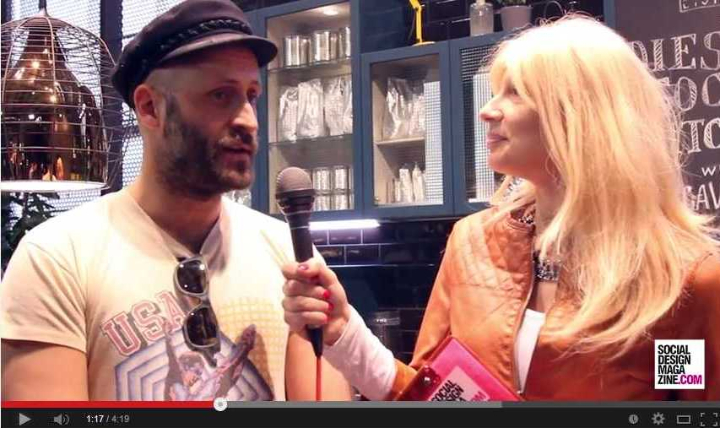 Andrea Rosso Diesel 2014 feira de móveis