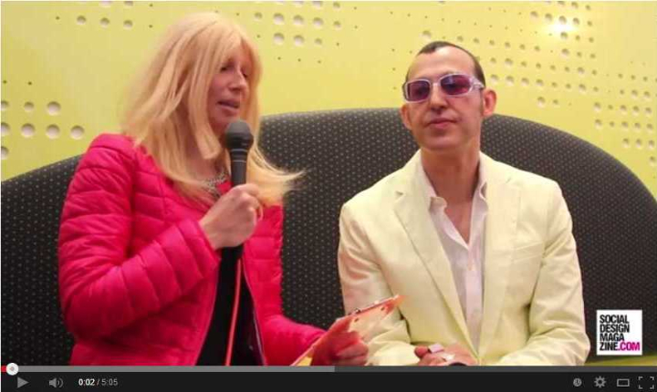 Interview mit Karim Rashid Furniture Fair 2014