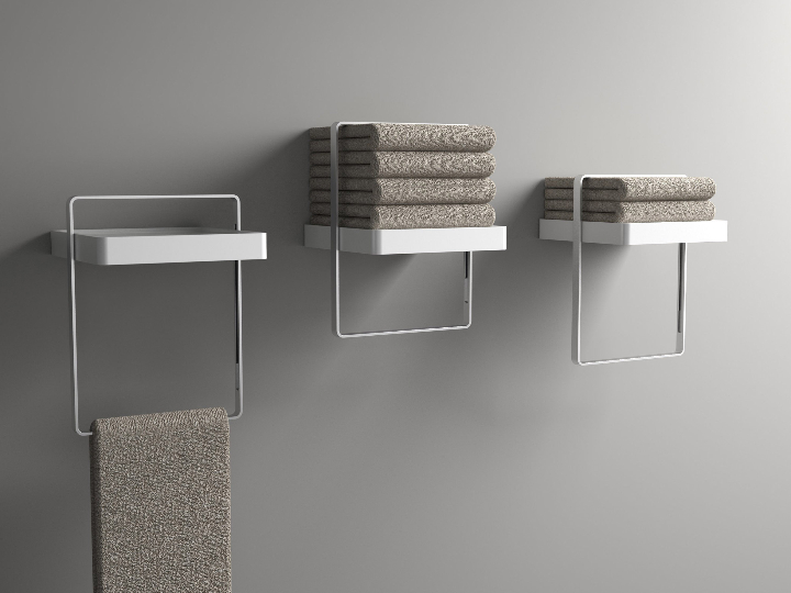 Slide Towel Shelf