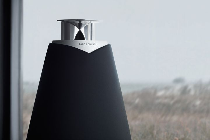 Bang Olufsen BeoLab 20-001 wireless speaker company magazine design