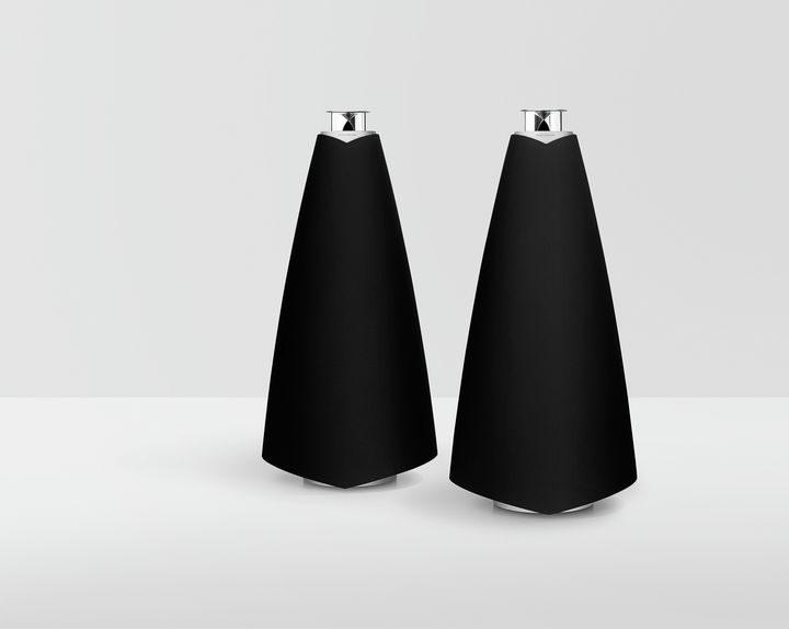 Bang & Olufsen BeoLab 20-002 projeto revista da empresa coluna sem fios