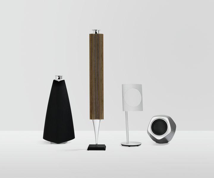 バング&オルフセンBeoLab 20-008ワイヤレススピーカーの会社雑誌のデザイン