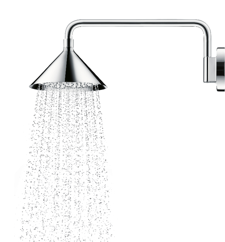 ShowerProducts Axor pa Front douch chrome tèt fini