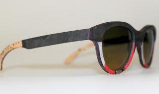 Catuma occhiali da sole in legno lino e pietra 2